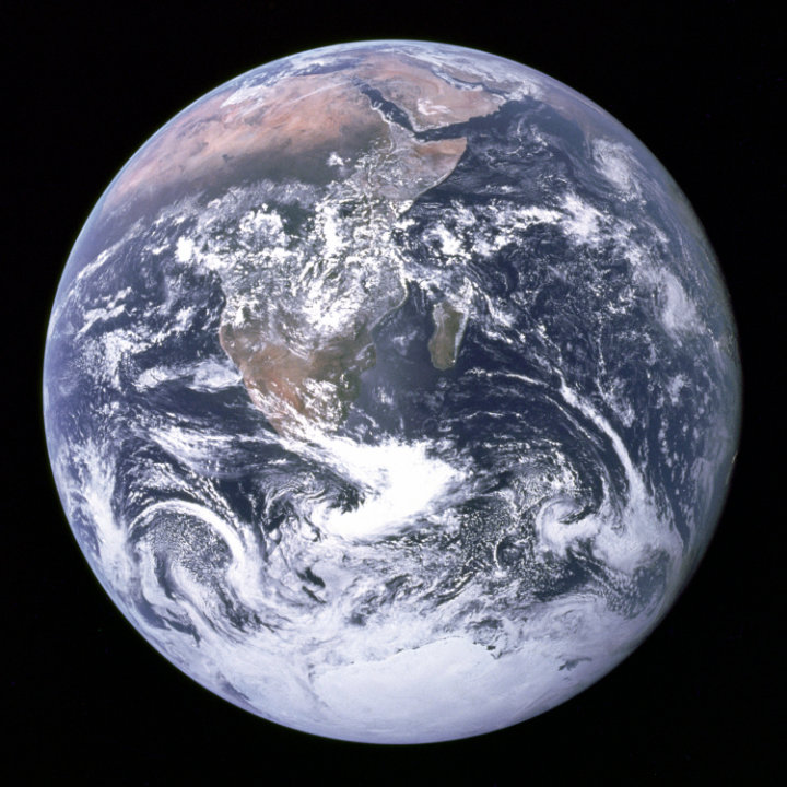 photo of our planet Earth